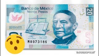 ¿Sabes por qué va a desaparecer el BILLETE de 20 PESOS en MÉXICO?