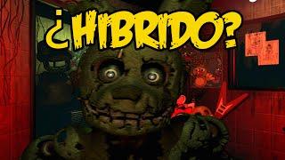 ¿El Nuevo Animatronico Es Un Hibrido?   Five Nights At Freddy's 3   fnaf 3