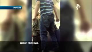 Молодежь устроила массовую драку в московской электричке