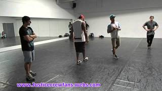 Justice Crew Dance Workshop For Best Night Winners Intro