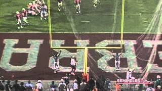 Great Moments In Florida State Football