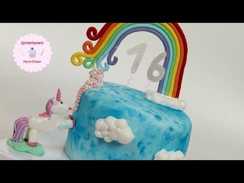 Einhorn-torte ♥ | Glitterbakery