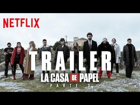 Papírový dům 3 - Filmové a seriálové trailery