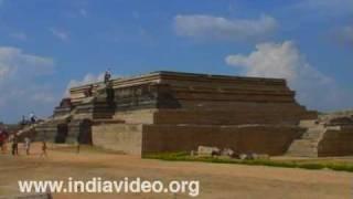 Base of King's Palace at Hampi