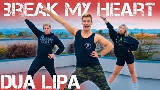 Dua Lipa - Break My Heart | Caleb Marshall | Dance Workout