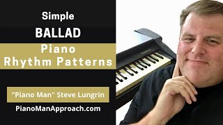 """Become Your Own Rhythm Section Series, """"Ballad Rhythm Pattern #1 & Variations"""""""