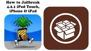 How to Jailbreak 4.2.1 iPod Touch, iPhone & iPad (UNTETHERED) Redsn0w