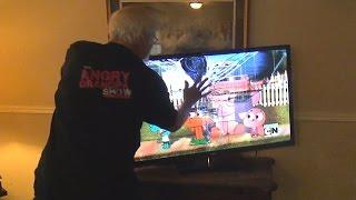 ANGRY GRANDPA SMASHES High Quality Mp3TV!