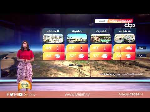 شاهد بالفيديو.. الأنواء الجوية لرابع أيام #عيد_الاضحى مع فانيتا الزعبي ☀