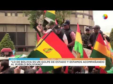 """Uñac sobre Bolivia: """"Es una clara intromisión de las fuerzas militares"""""""
