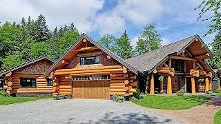 Dream Homes - Luxury Log Home & $8 Million Dollar Farmhouse