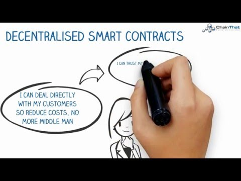Smart contracts - How BlockChain will change the legal industry cover image