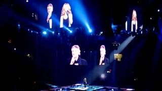 """HD""   Celine Dion: The Prayer With Andrea Bocelli (Madison Square Garden Taking Chances Tour)"