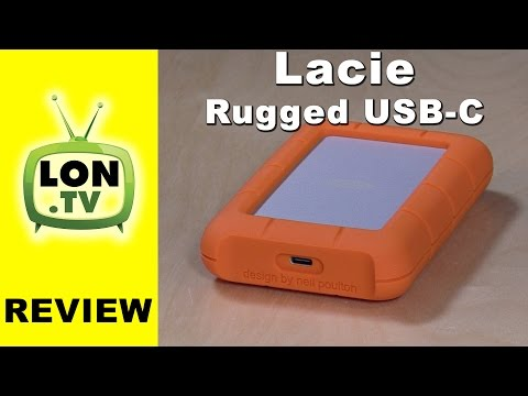 LaCie Rugged USB-C External Drive Review – 2TB / 4TB