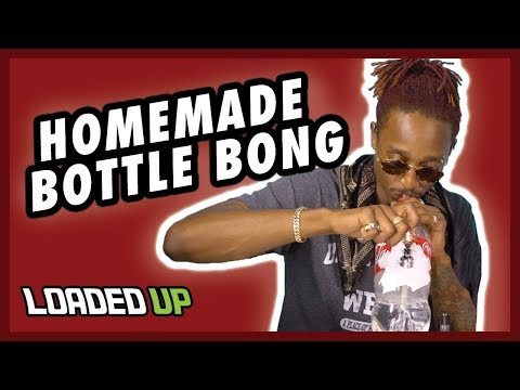 5 Minute Homemade Weed Bong Challenge