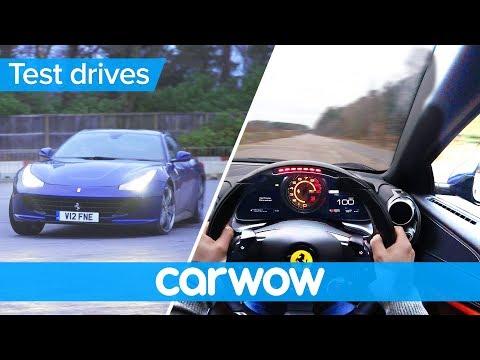 Ferrari GTC4Lusso 2018 POV review   Test drives