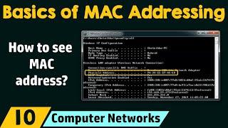 Basics of MAC Addressing