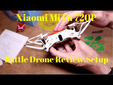 Xiaomi MiTu 720P Wifi Battle Drone Full Review,Setup And Indoor Flight