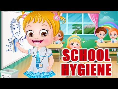 Video of Baby Hazel School Hygiene