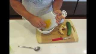 Powerful Raw Anti-Inflammatory Remedy - Anti Cancer Arthritis Turmeric Ginger Cucumber