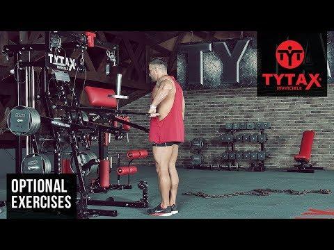 TYTAX® M2 ( Opt. JA ) | Lever Standing Alternating Upright Row
