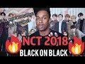 NCT 2018 엔시티 2018 'Black on Black' MV (Performance Ver.) SMTOWN reaction