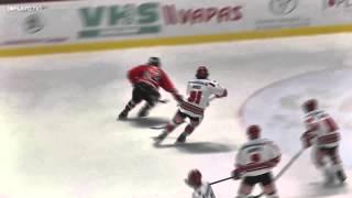 preview picture of video 'HC Orli Znojmo vs  HC TWK Innsbruck Die Haie - Highlights'