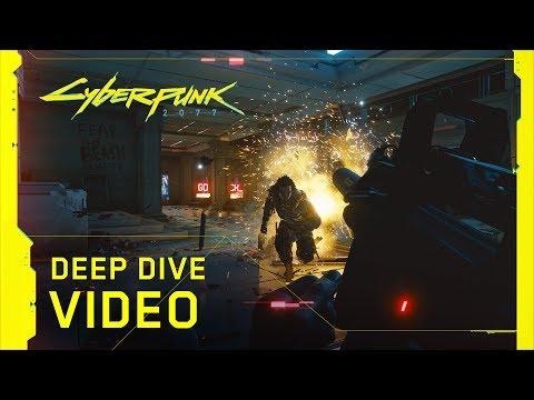 Herní ukázka ze Cyberpunku 2077