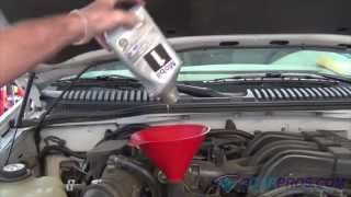 Oil Change & Filter Ford Explorer 2000-2005