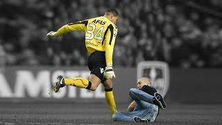 Co się stanie, gdy zdenerwujesz piłkarza?
