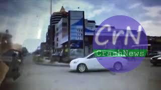 https://crashnews.org | ДТП  полицейского УАЗа в городе Семей в Республике Казахстан