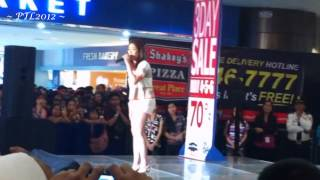 Angeline Quinto - I Just Fall In Love Again @ SM Bacoor