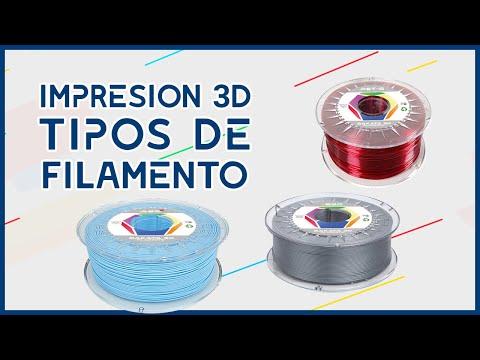 IMPRESIÓN 3D ►Conoce los 3 filamentos más utilizados 🔥