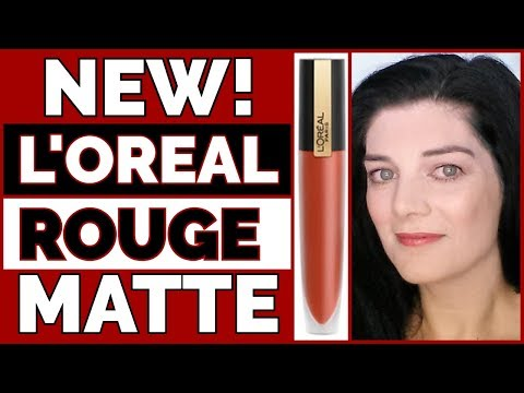New L Oreal Rouge Signature Matte Ink