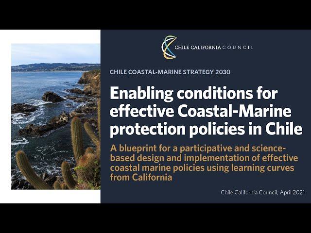 Condiciones para la implementación de políticas costeras efectivas en Chile