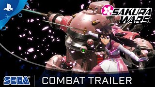Sakura Wars - Combat Trailer   PS4