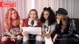Little Mix talk about Leigh-Anne