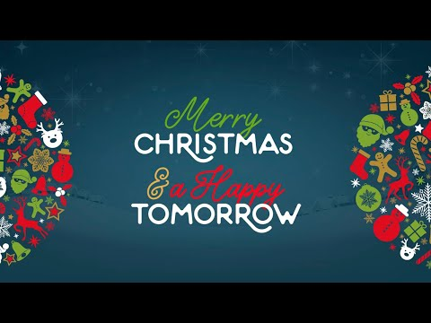 Merry Christmas & a Happy Tomorrow