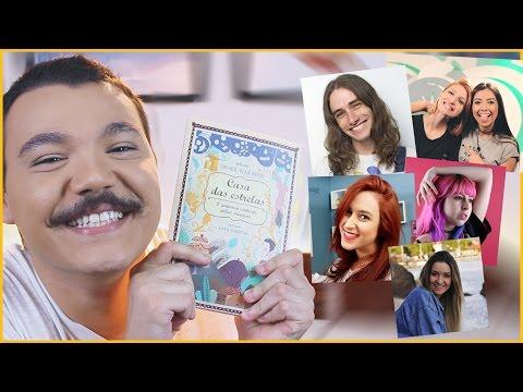 CASA DAS ESTRELAS | Bigode Literário ft. Depois das Onze, Rizzih, Gabs Fonte, Piink e Luiza Winck
