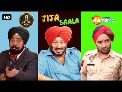 Jija Saala | B N Sharma Jaswinder Bhalla & Rana Ranbir | New punjabi Comedy Movies 2017
