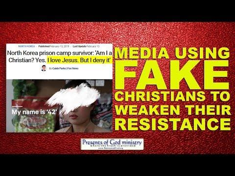 Media using FAKE Christians to Weaken Their Resitance