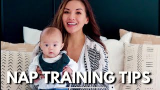 NAP TRAINING TIPS   HOW I GOT HIM TO SLEEP IN HIS CRIB #babysleeptraining#babysleep#sleeptraining