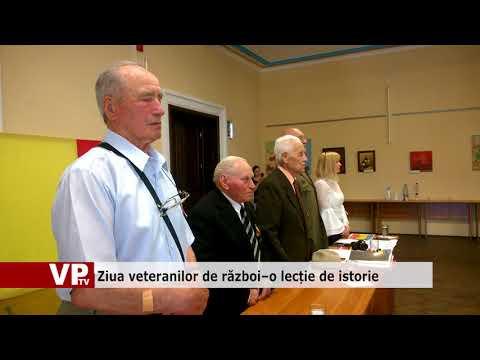 Ziua veteranilor de război–o lecție de istorie