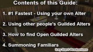 RuneScape - 1-99 Prayer Guide (Dragon Bones with Guilded Alter Methods)