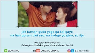 Easy Lyric KIM NA YOUNG   BECAUSE I ONLY SEE YOU By GOMAWO [Indo Sub]