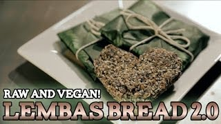 How to make LEMBAS BREAD 2.0 – Raw & Vegan! The Lord of the Rings! S3 E5
