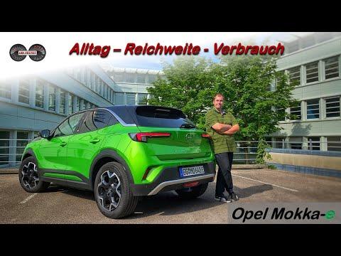 Wie gut ist der neue Opel Mokka-e im Alltag?! Test - Review - Reichweite - Verbrauch