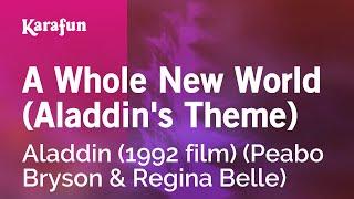 Karaoke A Whole New World (Aladdin's Theme)   Aladdin (1992 Film) *