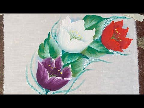 Pintura em tecido fácil