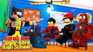 ROBLOX - SUPER-HERO HIGH SCHOOL, WHAT HERO WILL I BE?!!!
